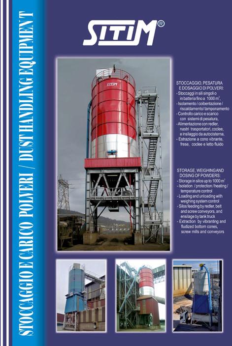C4-sili stoccaggio polveri e granuli
